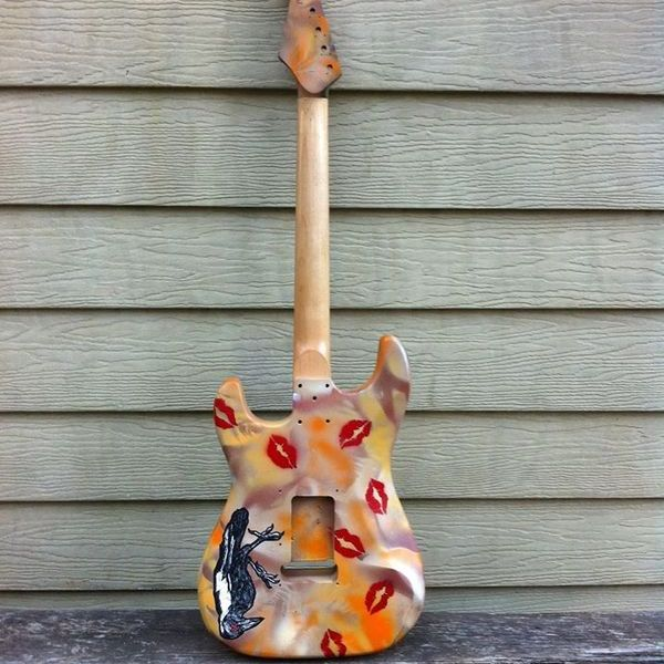 custom guitar megpie