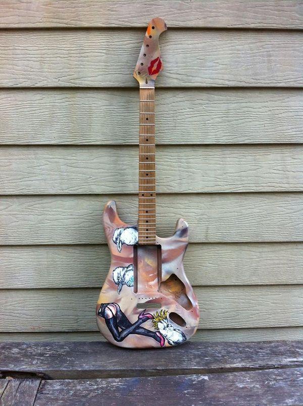 Custom guitar – Wild & sexy