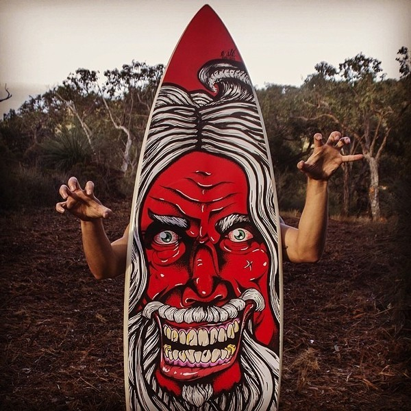 custom surfboard insanity
