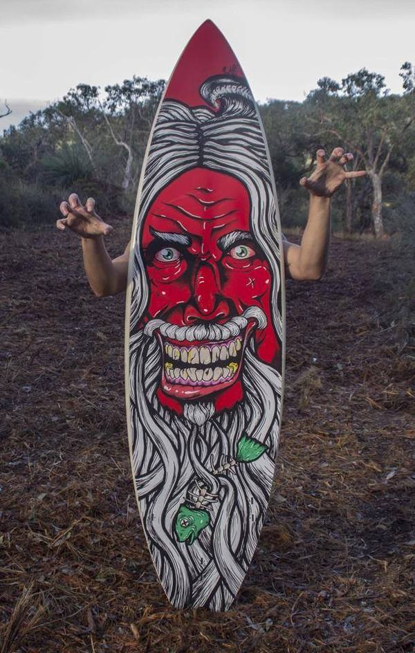 custom surfboard scary