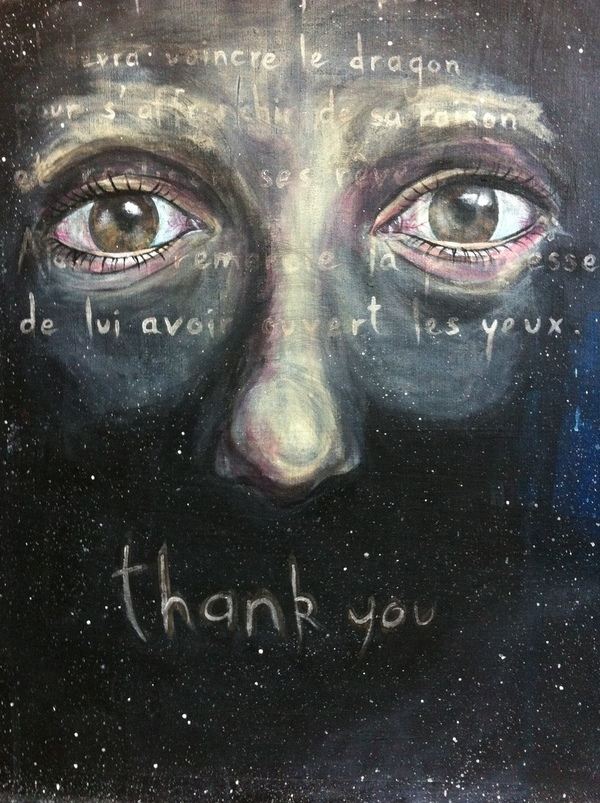 portrait eyes acrylic acceptance redemption