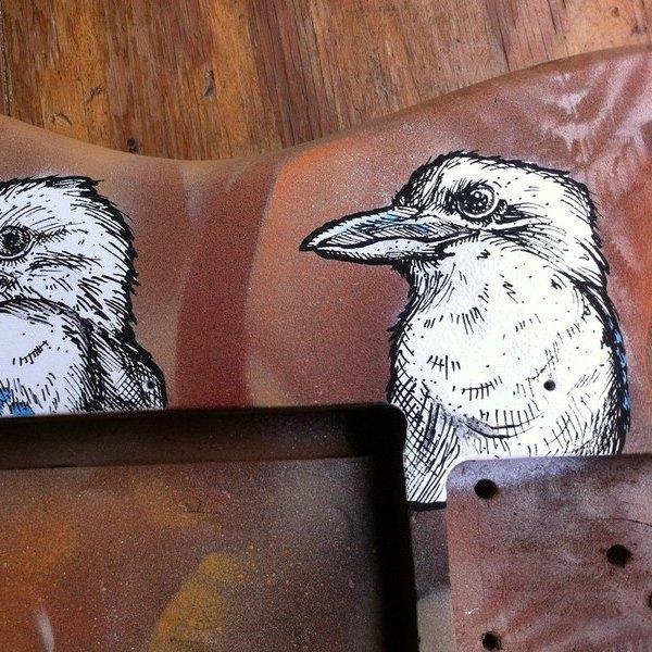 posca kookaburra