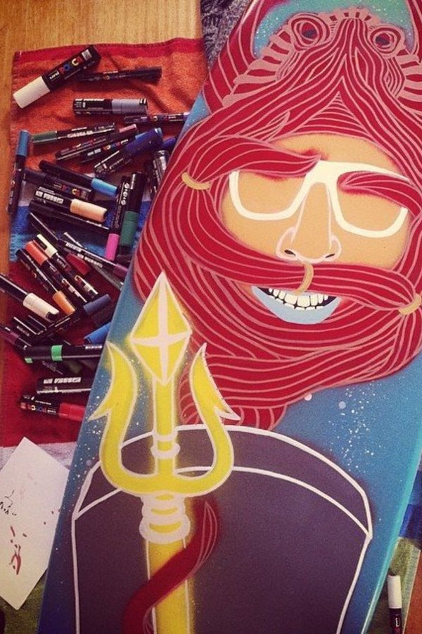 posca work in progress